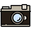 photography, technology, photograph, image, photo, picture Black icon