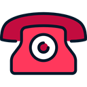 phone, technology, phone receiver, phones, phone call, Telephones Black icon