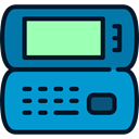 Telephones, technology, Communication, phone call, telephone, mobile phone, cellphone DarkTurquoise icon