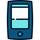 pencil, telephone, mobile phone, technology, Communication, phones, phone call Teal icon