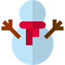 christmas, winter, snowman, Snow, shapes LightSteelBlue icon