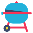 kitchen, Barbecue, Home, Restaurant, room DarkTurquoise icon