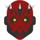 Darth, maul Brown icon