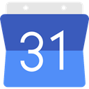 Calendar, time, date, Schedule, interface, Administration, google, Organization, Calendars, Time And Date CornflowerBlue icon