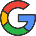 search, Logo, search engine, Logos, Brands And Logotypes, google, social media, social network, logotype DarkSlateGray icon