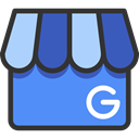 Business, google, Shop, Business And Finance CornflowerBlue icon
