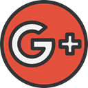 Logo, google, social media, social network, logotype, Brand, google plus, Brands And Logotypes Tomato icon