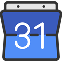 google, Organization, Calendars, Time And Date, date, Schedule, interface, Administration, Calendar, time RoyalBlue icon
