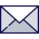 Email, envelope, Multimedia, envelopes, Communications, Message, mail, interface, mails Gainsboro icon
