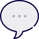 Multimedia, Chat, Communication, speech bubble, Conversation, Communications WhiteSmoke icon