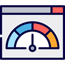 miscellaneous, speedometer, ui, velocity, Tools And Utensils, Measuring WhiteSmoke icon