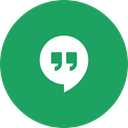 Message, Messenger, Circle, Messaging, Hangouts, round icon SeaGreen icon