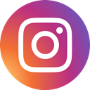 Instagram, round icon, photos, Circle, social media, social network IndianRed icon