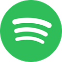 round icon, music, Circle, Spotify MediumSeaGreen icon
