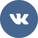 Circle, social media, social network, vkontakte, round icon DarkSlateBlue icon