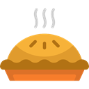 sweet, Bakery, Food And Restaurant, pie, food, Dessert Black icon