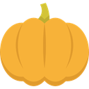 food, Fruit, vegan, Healthy Food, Food And Restaurant, pumpkin, organic, diet, vegetarian Goldenrod icon