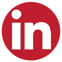 Rs, Linkedin, Social, media Firebrick icon