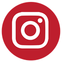 Instagram, media, Rs, Social Firebrick icon