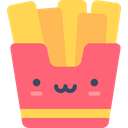 Fast food, fries, junk food, french fries, Potatoes, Food And Restaurant, food, Restaurant Salmon icon