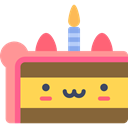 sweet, Bakery, Piece Of Cake, Food And Restaurant, Birthday And Party, food, Dessert Sienna icon