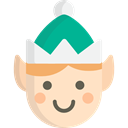 Fantasy, Costume, people, Avatar, christmas, elf Icon