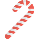 food, Candy, christmas, xmas, Dessert, sweet, decoration, candy cane, Food And Restaurant Black icon