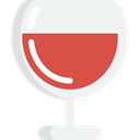 wine, cup, drink, food, glass, drinking, Wine Glass, Food And Restaurant WhiteSmoke icon