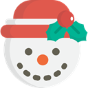 Snow, christmas, winter, snowman, Cold WhiteSmoke icon