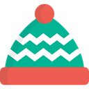 winter hat, hat, christmas, winter, xmas, fashion, Costume, santa claus, father christmas Tomato icon