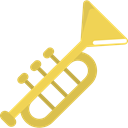 music, jazz, Trumpet, musical instrument, Wind Instrument, Orchestra, Music And Multimedia Icon