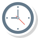 Alarm, watch, Schedule, Clock, Alert, time, Wait SlateGray icon
