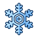 Ice, Cold, snowflake, Snow, christmas, winter Black icon