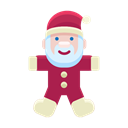 Game, christmas, Toy, Child, santa, claus Black icon
