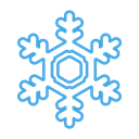 Snow, Cold, snowflake, Flake, christmas, winter, Ice Black icon