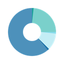chart, web, Analytics, graphic SteelBlue icon