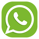 media, Apps, Social, Android, Whatsapp YellowGreen icon