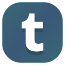 media, Apps, Social, Tumblr, Android DarkSlateBlue icon