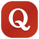 Apps, Social, Android, Quora, media Firebrick icon