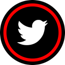 media, online, twitter, Social Black icon