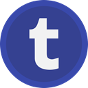 blog, Tumbler, Laundry, network, online DarkSlateBlue icon