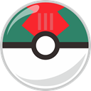 Ball, pocket, pocket monster, lure SeaGreen icon