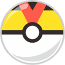 Ball, level, pocket, pocket monster Gold icon