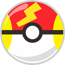Ball, Fast, pocket, pocket monster Crimson icon