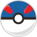 pocket monster, Ball, pocket, great Teal icon