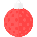 christmas, Holiday, xmas, decoration, deco Tomato icon