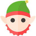 christmas, Holiday, xmas, elf OliveDrab icon
