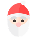 Holiday, santa, xmas, christmas WhiteSmoke icon