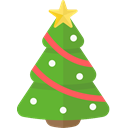 Holiday, xmas, Tree, christmas OliveDrab icon
