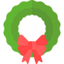 wreath, christmas, Holiday, xmas OliveDrab icon